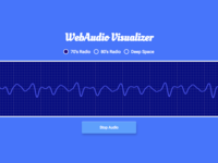 WebAudio Visualizer