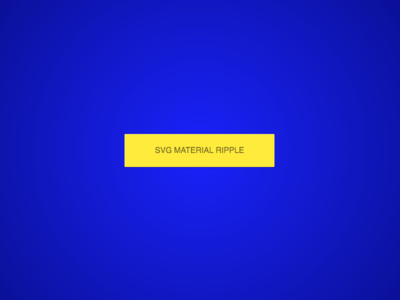 SVG Material Ripple design interaction front-end web development greensock javascript css html material design svg