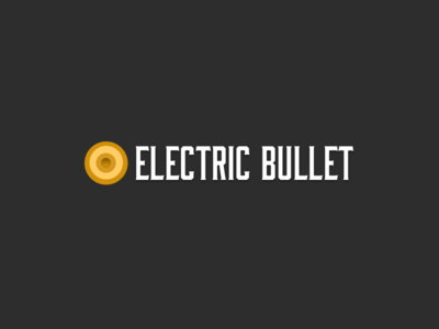 EB Logo Concept bullet bourbon svg design layout sketch branding typography logo