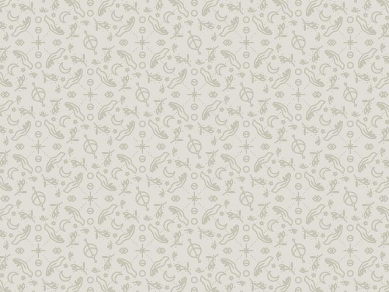 Sacred Pattern vector branding pattern a day moonsea holistic sacred illustrator stars floral moons hands pattern