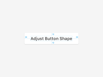 Sketch Plugin: Adjust Button Shape plugin sketch