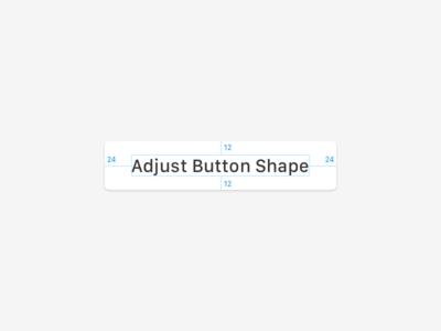 Sketch Plugin: Adjust Button Shape