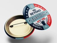 D&D Beyond Election Button pin design pin button design button stars and stripes usa tabletop rpg presidential election president election critical role criticalrole critters dungeonsanddragons dungeons and dragons dungeons  dragons dnd