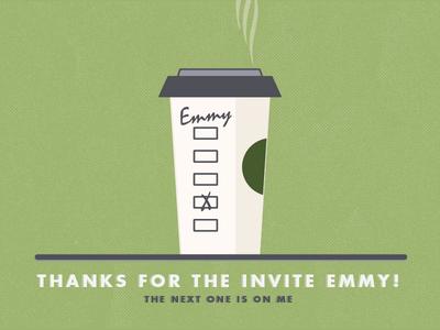 Thanks Emmy