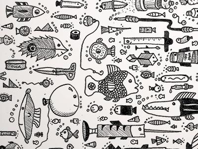 Fishy School of Fish