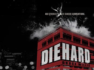 Die Hard action building explosion die hard bruce willis poster movie photoshop