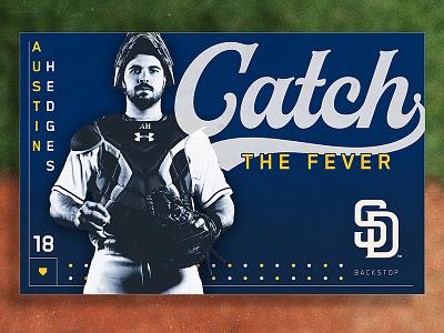San Diego Padres typography photoshop clayton richard austin hedges pitcher catcher baseball san diego padres