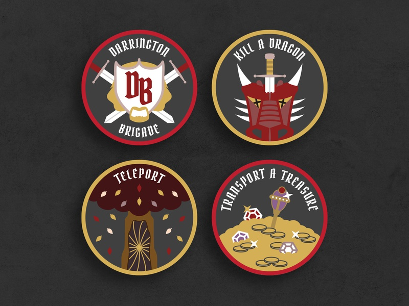DND Achievement Patches