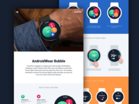 AndroidWear - Home Automation Case Study Launch watch face design ui design smart watch sketch app iot interaction design home automation