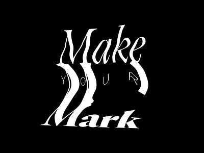 MYM 2020 brand glitch typography illustration vector handmade branding typo design