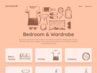 zerowaste.love - Bedroom & Wardrobe