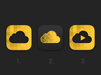 Cloud File/Video App Icon