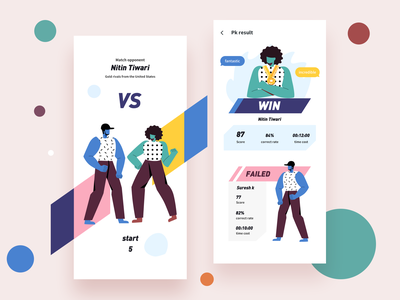 PK one by one -1 boy vs pk app ui