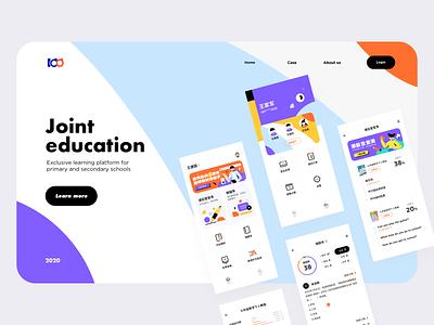 Education app web ui