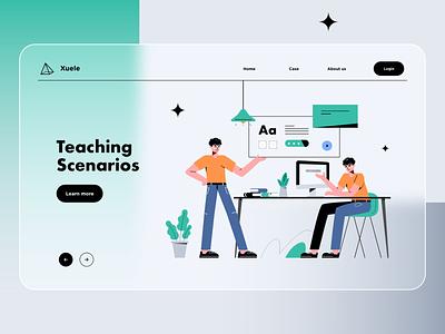Teaching Scenarios illustrator illustrator education
