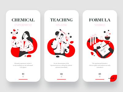 chemical girl chemical red illustration app