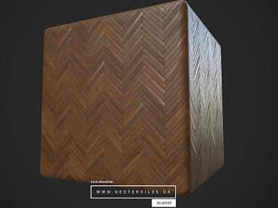 Herringbone Floor Pattern game art pattern 3d procedural texture material