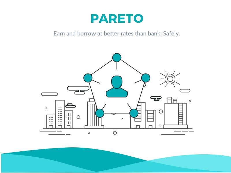 Pareto - Landing Page web ui landing page