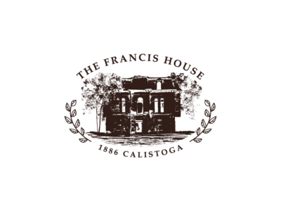 The Francis House old house historical logo