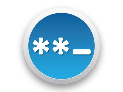 Password osx icon help password