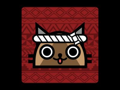 Monster Hunter Felyne/Palico app icon app icon