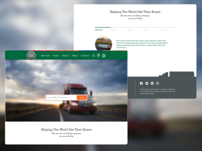 Example Freight Company Design