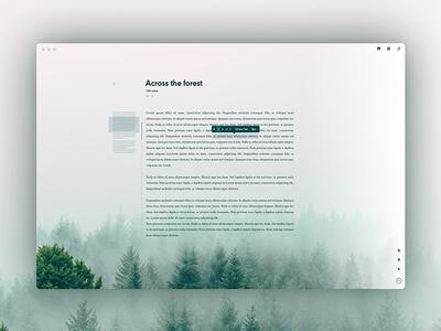 Sedna - Immersive text editor