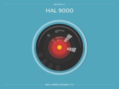 Sci-Fi UI #5 - HAL 9000