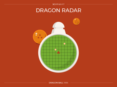 Sci-Fi UI #17 - Dragon Radar