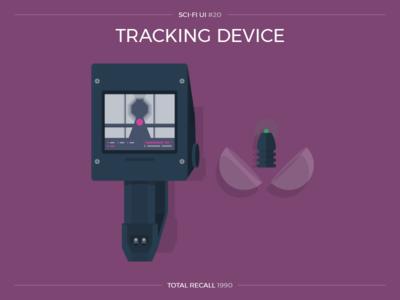 Sci-Fi UI #20 - Tracking Device