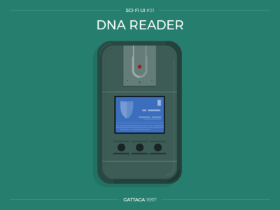 Sci-Fi UI #21 - DNA Reader