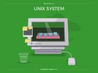 Sci-Fi UI #22 - UNIX System