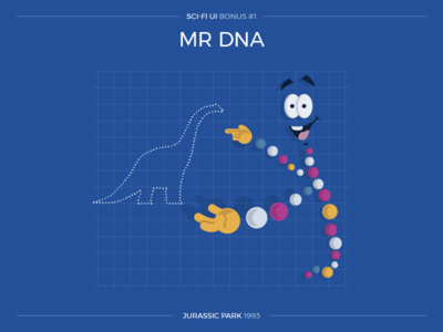 Sci-Fi UI Bonus #1 - Mr DNA