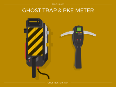 Sci-Fi UI #25 - Ghost Trap and PKE Meter