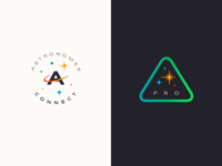 Astronomer Connect & Pro Logos