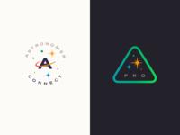 Astronomer Connect & Pro Logos