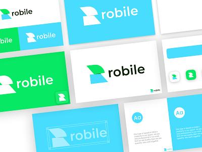 R LETTER LOGO abstract logo mordern logo logo illustration graphic design design branding