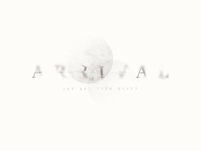 """""""Arrival"""" Fan Art Poster"""