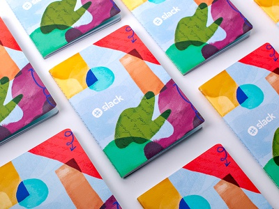 A Place to Join the Dots painting pattern journal illustration notebook slack