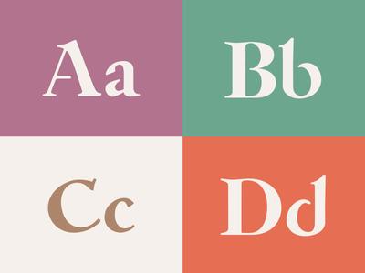 Newest Typeface, Work-In-Progress