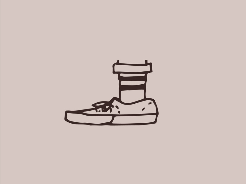 "Vicious Vectors - ""Sock Game"" illustrator design instagram illustration"