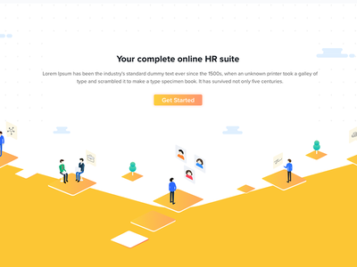 HR Web design ux ui web