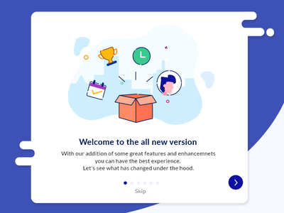 Product Onboarding step process card onboarding product hr design illustration ui