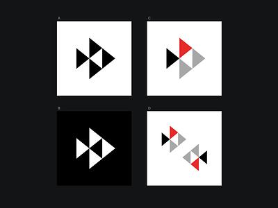 A simple fish logo design logo