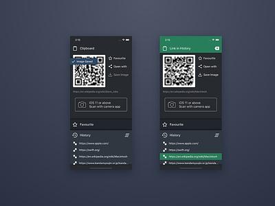 Magic Share UI ux ui app design