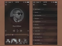 Freebie PSD: iOS7 Vintage Music Player