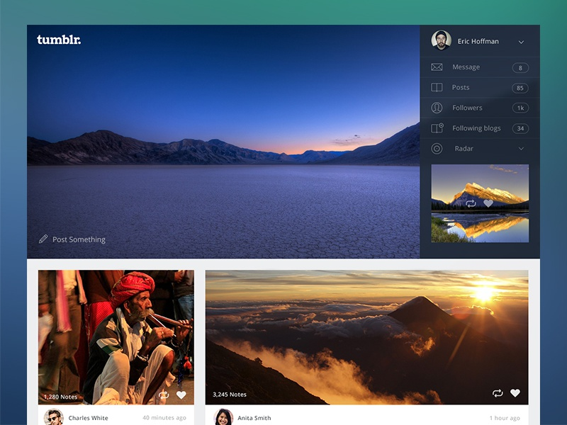 Tumblr redesign tumblr redesign app photos
