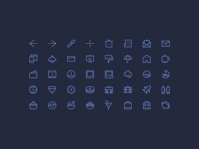 Freebie: Icons set vol.2 freebie icons outline stroke