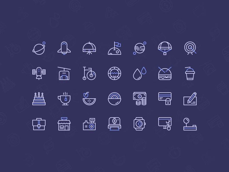 Freebie: Birply icons set free iconstore set icon icons gift freebie