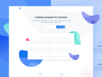 Ava - HTML/CSS Landing page